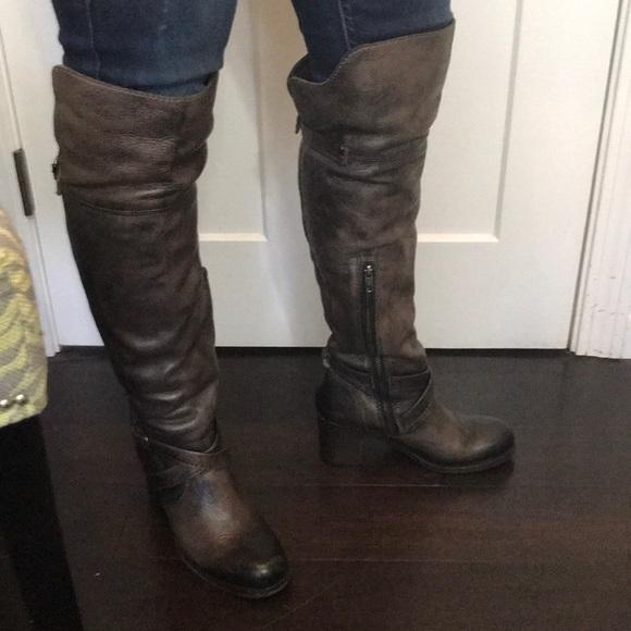 d7a427cb0d7 Frye Shoes - Frye Kelly otk leather boots 8